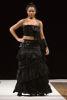 jupe longue bustier noir