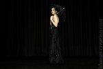 robe noire bustier de soirée