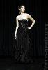 robe bustier noire longue by Maité Pillot
